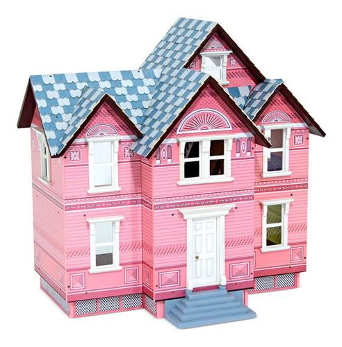 Melissa & Doug Victorian Dollhouse