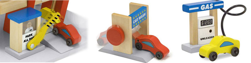 Melissa & Doug Deluxe Wooden Parking Garage Review