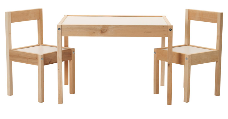 IKEA Children's Kids Table and Chairs Set Furniture