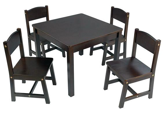 KidKraft Farmhouse Table and 4 Chair Set