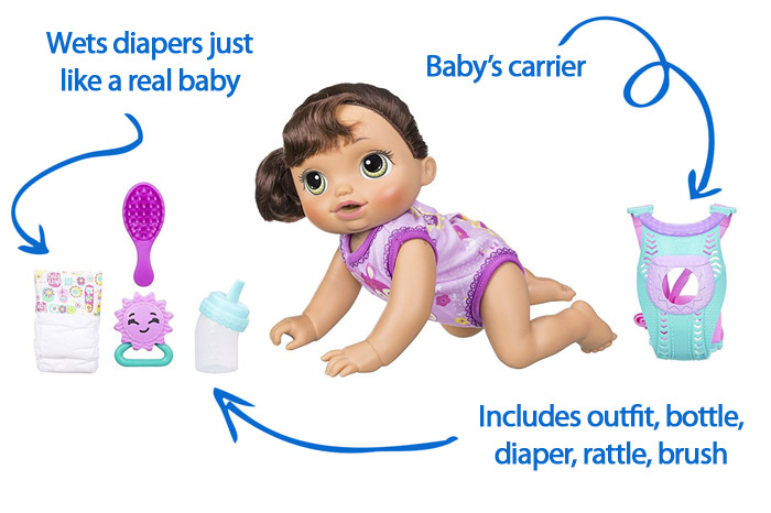 7 Best Interactive Baby Dolls that Can Talk, Cry, Wet and