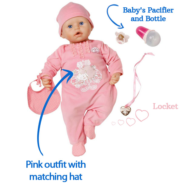 """Zapf Creations Baby Annabell 18"""" Doll Review"""