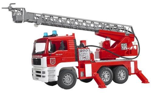 Bruder MAN fire truck Review