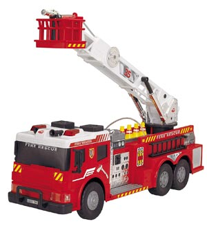 "Dickie Toys 24"" Remote Control Light and Sound Fire Rescue Vehicle Review"