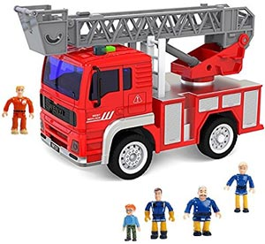 FUNERICA Toy Fire Truck with Lights and Sounds Review
