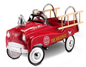 InStep Fire Truck Pedal Car Review