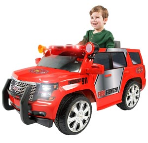 Rollplay GMC Yukon Denali Fire Rescue 6 Volt Ride-On Vehicle Review