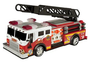 "Toy State 14"" Rush And Rescue Police And Fire truck Review"