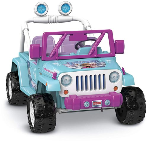 Power Wheels Disney Frozen Jeep Wrangler Review