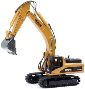 Metal Construction Vehicle Models Toys for Kids (Crawler Excavator)