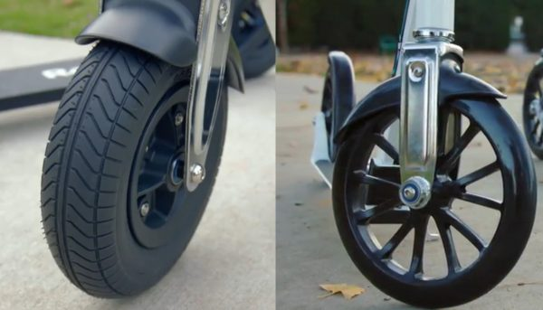 Razor A5 vs A6 Wheels
