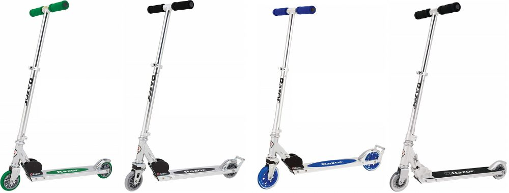 The Best Kick Scooters: A Comparison of Razor A, A2, A3, and A4
