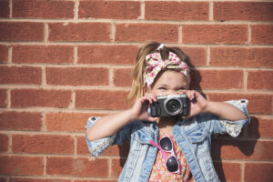 fashionista girl child adorable cute concept PGMLV8R