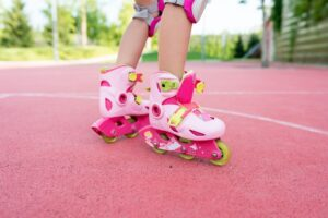 kid roller childhood training protection sport leisure outdoor child skate park activity girl skating t20 wLVoz7